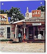 Crossroads Store Bar Juke Joint And Gas Station Fsa Marion Post Wolcott Melrose Louisiana Acrylic Print