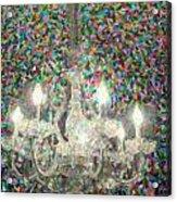Crystal Chandelier Acrylic Print