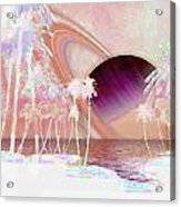 Crystal Sunset Acrylic Print