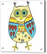 Cute Owl Acrylic Print