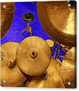 Cymbals Acrylic Print
