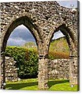 Cymer Abbey Snowdonia Acrylic Print