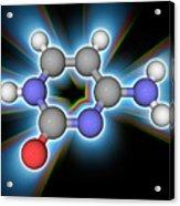 Cytosine Organic Compound Molecule Acrylic Print