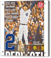 Daily News Front Page Wrap Derek Jeter Acrylic Print
