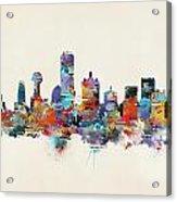 Dallas Texas Skyline Acrylic Print