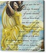 Dancing In Glory Acrylic Print