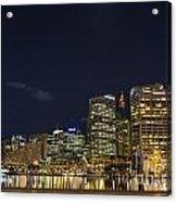 Darling Harbour In Sydney Australia Acrylic Print