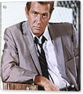 Darren Mcgavin Acrylic Print by Silver Screen