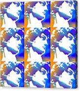 David Repeat Treatment One Color Acrylic Print