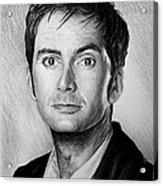 David Tennant Acrylic Print by Andrew Read