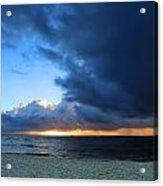 Dawn Over The Ocean Acrylic Print