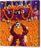Day Of The Dead Altar, Mexico Acrylic Print