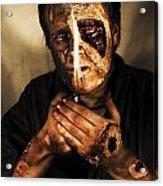 Dead Man Smoking Acrylic Print