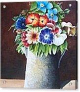 Deanne's Flower Pot Acrylic Print