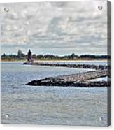 Delaware Breakwater East End Lighthouse Acrylic Print