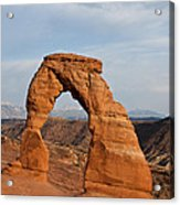 Delicate Arch At Sunset Acrylic Print