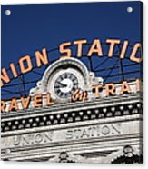 Denver - Union Station Acrylic Print