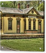 Chester Park Train Depot Acrylic Print