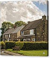 Derbyshire Cottages Acrylic Print