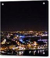Derry At Night Acrylic Print
