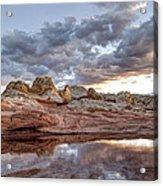 Desert Geology 2 Acrylic Print