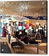 Desigual Fashion Store Acrylic Print
