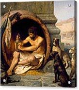 Diogenes Acrylic Print