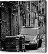 Dirty Back Streets Mono Acrylic Print