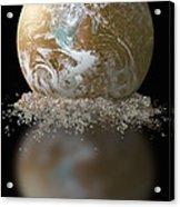 Dissolving Earth Acrylic Print