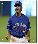 Division Series - Texas Rangers V Acrylic Print