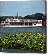 Dixie Boat Acrylic Print by Thomas Fouch