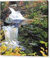 Doanes Falls In Autumn Acrylic Print