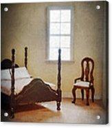 Dollhouse Bedroom Acrylic Print