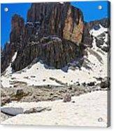 Dolomites - Pisciadu Peak Acrylic Print