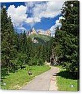 Dolomiti - Fassa Valley Acrylic Print