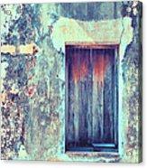Door To Nowhere Acrylic Print