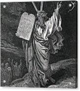 Dore, Paul Gustave 1832-1883. La Sainte Acrylic Print