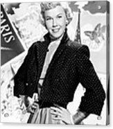 Doris Day, 1953 Acrylic Print