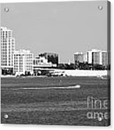 Downtown Clearwater Skyline Acrylic Print