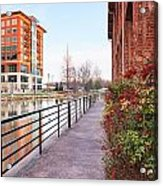 Downtown Greenville Sc Acrylic Print