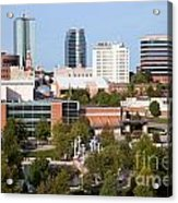 Downtown Knoxville Tennessee Skyline Acrylic Print