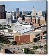 Downtown Skyline Of St. Paul Minnesota Acrylic Print