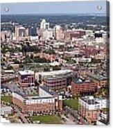 Downtown Skyline Of Wilmington Acrylic Print
