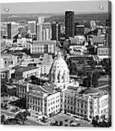 Downtown Skyline St. Paul Minnesota Acrylic Print