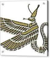 Dragon - Demon Of Ancient Egypt Acrylic Print