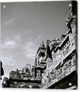 Dramatic Borobudur Acrylic Print