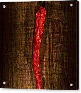 Dried Pepperoni Acrylic Print