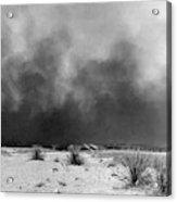 Drought Dust Storm, 1936 Acrylic Print