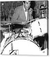Drummer Gene Krupa Acrylic Print