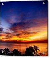 Dry Season-sunset Acrylic Print